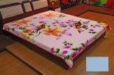 Heißer Verkaufs-hochwertiger König Size Polyester Raschel Blanket