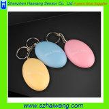allarme personale dell'anello portachiavi 120dB per gli operai di notte anziani dei bambini delle signore Hw-3200