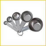 Conjunto de 5 acero inoxidable cuchara dosificadora y la Copa