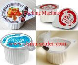 Ms-1 tipo rotatorio máquina manual del lacre de la taza