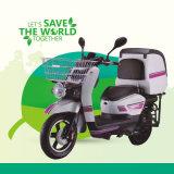 batteria elettrica del motociclo 96V60ah di 120km per servizio di pasto rapido