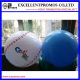 Boule de plage gonflable adaptée aux besoins du client par logo de PVC de promotion (EP-B7098)