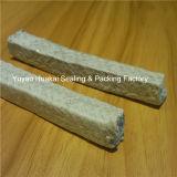 De zure AlkaliTeflon van het Asbest PTFE van de Weerstand doordrong Gevlechte Verpakking
