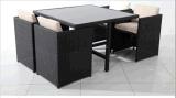 Lesiure Sofa Set avec PE Rattan