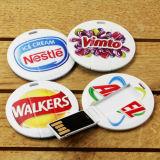 Миниый привод вспышки USB кредитной карточки для свободно образца