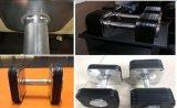 Dumbbell rápido comercial usado interno da mudança do equipamento da ginástica do equipamento da aptidão com a placa do ferro de molde