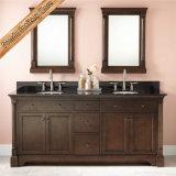 Badezimmer-Eitelkeits-festes Holz-Badezimmer-Schrank der Qualitäts-Fed-6043