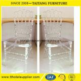 Cristal barato de empilhamento por atacado da mobília - cadeira desobstruída