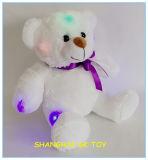 Firmenzeichen-kundenspezifischer Lampen-Blitz-Teddybär mit LED-Licht