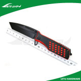 Черное покрытие складывая фиксирующ тактический нож