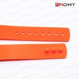 Tag sem contato compatível da faixa de relógio do Wristband do silicone do cartão MIFARE 1k RFID de Fudan