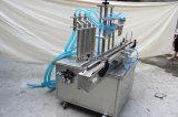 Tipo máquina de rellenar automática del soporte de 4 boquillas para el líquido