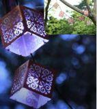 Indicatore luminoso solare 10 LED di Lanternstring del metallo di Napa