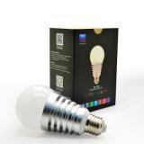 7.5W E27 LED 플라스틱 알루미늄 가벼운 Bluetooth 전구