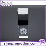 Movimentação transparente 8GB da pena do metal OTG da alta qualidade