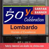 カスタム印刷高品質の屋外PVC屈曲のビニールの旗