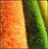 Fabbricato lungo della pelliccia del Faux del pilastro delle lane lunghe