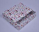 Caixa de papel de vestuário da instalação rígida com fita