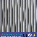 Panneaux muraux décoratifs modernes en cuir 3D pour la décoration de chambre à coucher