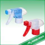Pulvérisateurs en plastique colorés de 28/410 déclenchement de pp pour le nettoyage de cuisine
