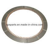 El motor del recorrido del excavador parte la placa del disco de la fricción