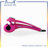 Pink Color Professional Électrique LCD Hair Curler