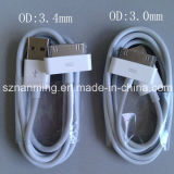 Cabo do USB com cabo de 30 dados do USB do Pin para o iPhone