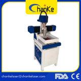 Mini CNC Lathe Machine para metal e vidro de madeira Ck6090