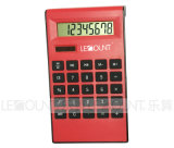 Calculadora de escritorio de la energía dual en forma de L de los dígitos del ABS 8 (LC230)