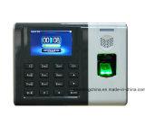Service biométrique de temps avec l'écran couleur de TFT (GT100)