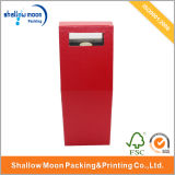 Personalizar el diseño fantástico de papel de embalaje de vino de caja (qyci1516)