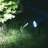 Lampe actionnée solaire imperméable à l'eau de degré de sécurité de détecteur de PIR pour l'application extérieure
