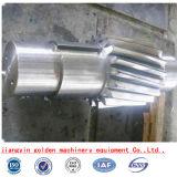 Вал шестерни вковки AISI4140 SAE4340 стальной