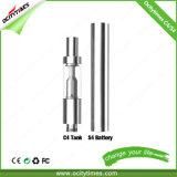 Ocitytimes aucun atomiseur de réservoir en verre 0.5ml C4 de mèche pour le liquide de Cbd Oil/E