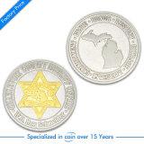 승진 주문 기념품 도전 아연 합금 앙티크 안전 동전