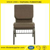 学校のホールの椅子をスタックする耐久の金属