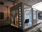 Cabina de aluminio modificada para requisitos particulares de la exposición de la cabina de la feria profesional de la tela de la tensión