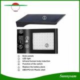 La lumière la plus lumineuse d'énergie solaire de 48 DEL avec la lampe extérieure de garantie de jardin de mur du détecteur de mouvement IP65 avec le panneau solaire de 5V 5W