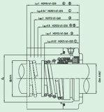 Selo mecânico do desequilíbrio para Pumpe (HG9)