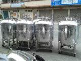 El tanque de acero inoxidable vertical para la varios goma y líquido
