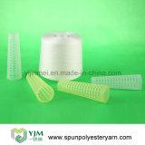 Knotenloses Polyester-Garn 100% für das Kleid-Nähen