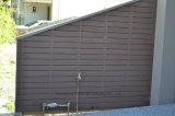 Frontière de sécurité environnementale extérieure de Brown du composé en plastique 137 en bois solide