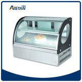 Cp600 수직 6 측 유리제 전시 냉각기