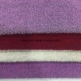 El bucle doble de las caras cuenta un cuento la tela de las lanas