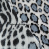 ヒョウプリントが付いているAntipillingの北極の羊毛