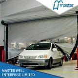 O auto da tela do PVC que repara rápido de alta velocidade rola acima a porta para o armazém
