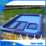 Hecho en piscina inflable modificada para requisitos particulares grande del PVC de China pequeña