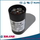 110V 108-130mfd elektrolytischer Kondensator für das Beginnen von Bruchpferdestärken