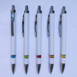 Pen van de Klem van het metaal de Plastic Promotie (P1036)