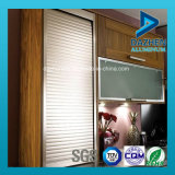 Profilo di alluminio per l'armadio da cucina della finestra del portello dell'otturatore del rullo